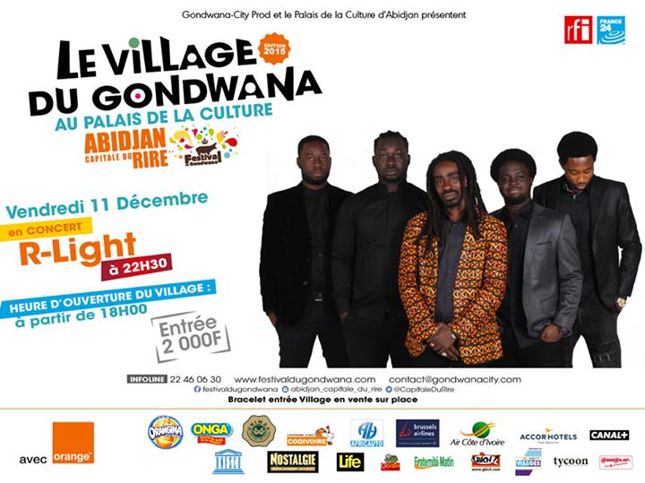 Le village du Gondwana