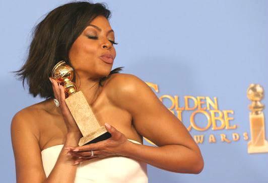 Taraji P.Henson aux Golden Globes