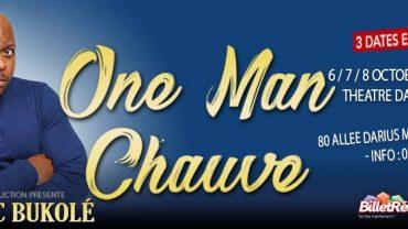 Frédéric Bukolé dans 'One Man chauve'