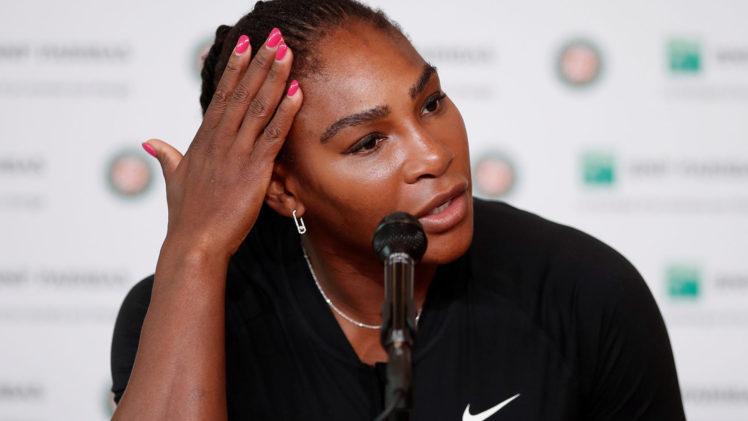Roland-Garros : Serena Williams déclare forfait