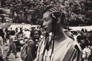 A Afropunk, le look fait partie intégrante du show! Paris 2017 © Jean-Michel Tébah-Kiah