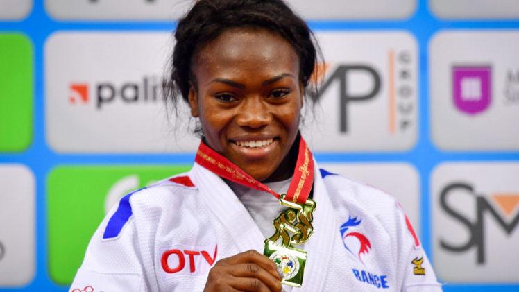 Judo : Clarisse Agbegnenou sacrée championne du monde