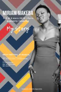 190130_AFFICHE_Miriam Makeba_Patricia Essong_auguste theatre