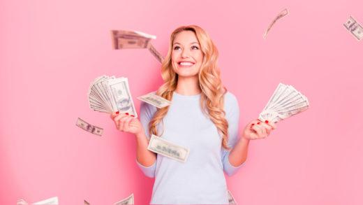 Happy-girl-with-money
