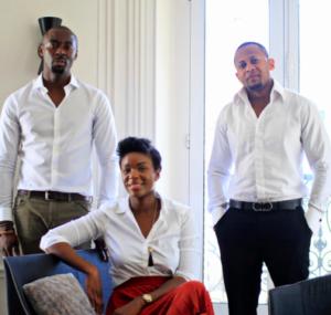 De gauche à droite : Patrick Bakili, Grace Yoka, Nicky Nzanza